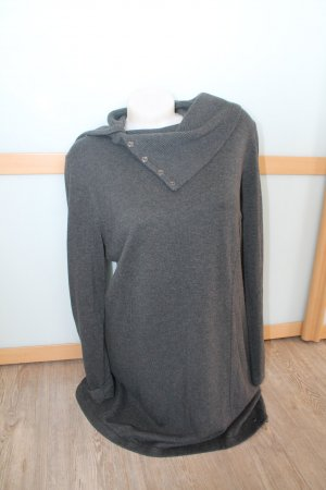 CECIL Pullover mit Rollkragen Grau Anthrazit Gr.XL 42 lang long Rolli Kragen top