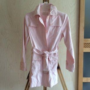 CECIL rosa Sommerjacke mit Gürtel