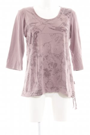 Cecil Shirttunika pink Allover-Druck Casual-Look
