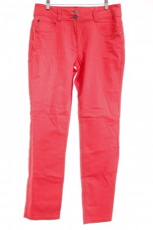 Cecil Skinny Jeans rot Casual-Look