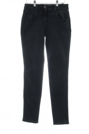 Cecil Skinny jeans zwart casual uitstraling