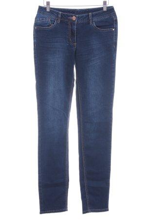 "Cecil Slim Jeans ""Charlize"" dunkelblau"