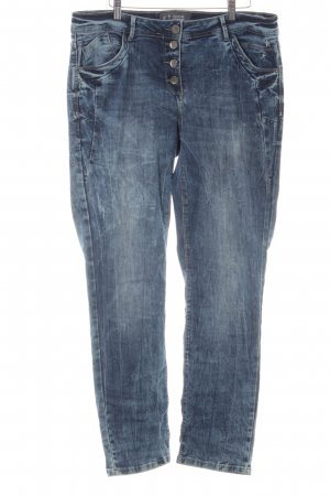 Cecil Slim Jeans dunkelblau Casual-Look