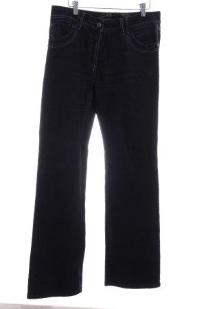 Cecil Slim Jeans dunkelblau Casual-Look