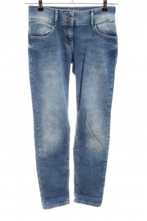Cecil Slim Jeans blue casual look