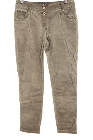 Cecil Slim Jeans graubraun-grüngrau Casual-Look