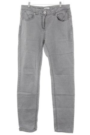 Cecil Slim Jeans hellgrau-silberfarben Casual-Look