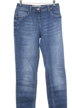 Cecil Slim Jeans stahlblau Casual-Look