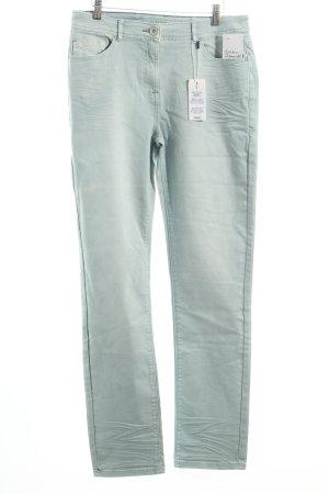 Cecil Slim Jeans türkis Casual-Look