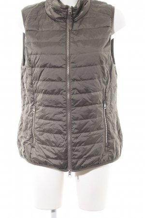 Cecil Quilted Gilet bronze-colored quilting pattern wet-look