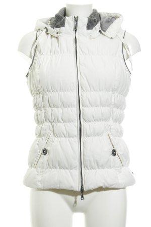 Cecil Smanicato trapuntato bianco-grigio motivo trapuntato stile casual