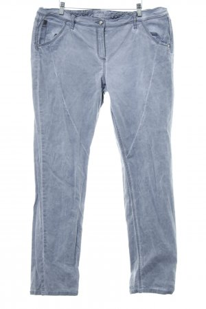 Cecil Stoffhose grau Washed-Optik