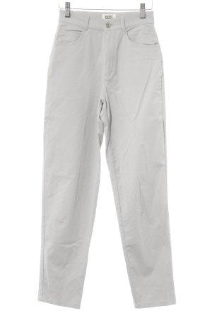 Cecil Pantalone jersey grigio chiaro stile casual