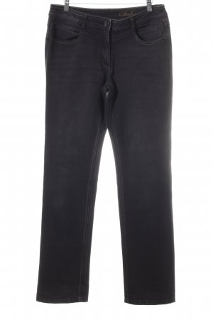 Cecil Straight-Leg Jeans anthrazit Casual-Look