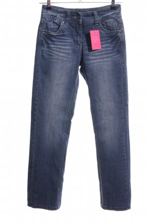 Cecil Straight Leg Jeans blue casual look