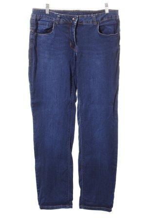 Cecil Straight-Leg Jeans dunkelblau-blau Casual-Look