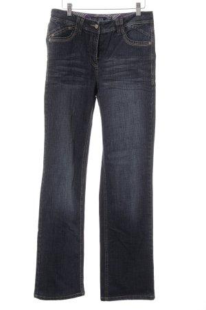 Cecil Straight-Leg Jeans dunkelblau Casual-Look