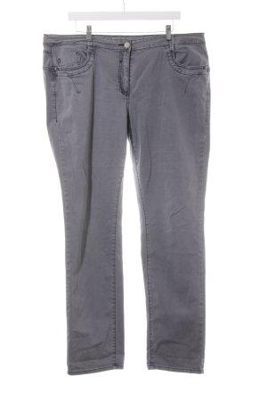 Cecil Jeans a gamba dritta grigio stile casual
