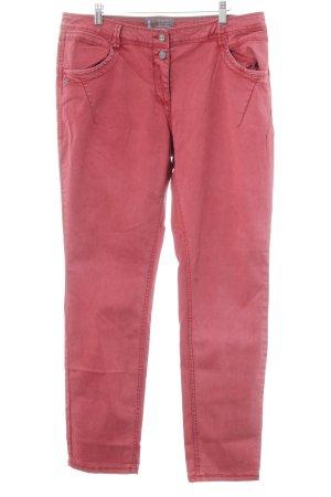 Cecil Straight-Leg Jeans hellrot schlichter Stil