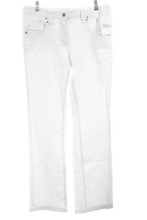"Cecil Straight-Leg Jeans ""Scarlett"" weiß"