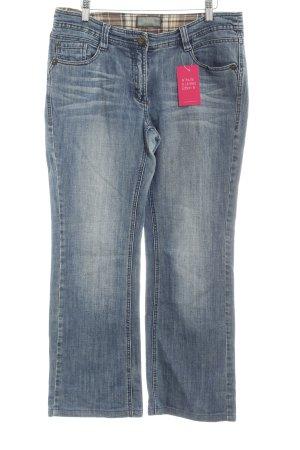 Cecil Straight-Leg Jeans stahlblau Casual-Look