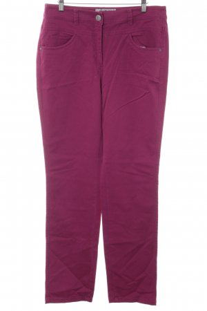 Cecil Straight-Leg Jeans violett Casual-Look