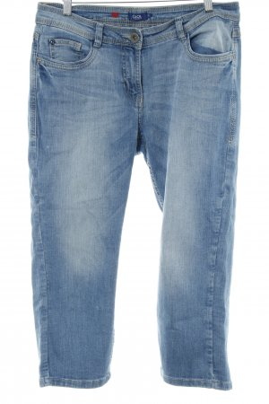 Cecil Stretch Jeans himmelblau Jeans-Optik