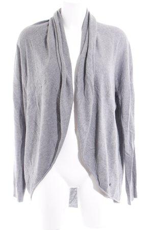 Cecil Cardigan in maglia grigio chiaro-grigio puntinato stile casual