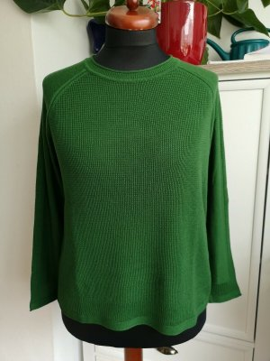 Cecil Knitted Sweater forest green mixture fibre