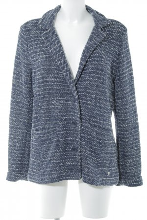Cecil Knitted Blazer dark blue-white casual look