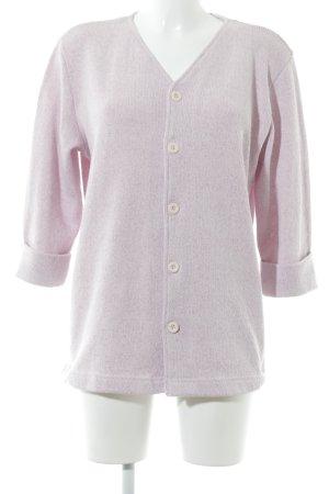 Cecil Giacca in maglia rosa-rosa chiaro puntinato stile casual