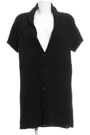Cecil Giacca in maglia nero stile casual