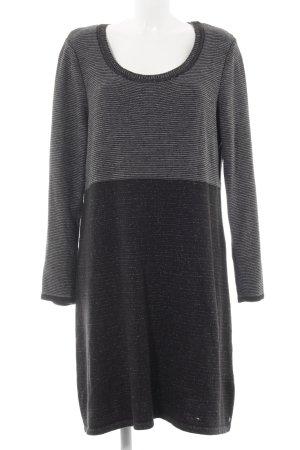 Cecil Abito di maglia nero-grigio Colore sfumato stile casual