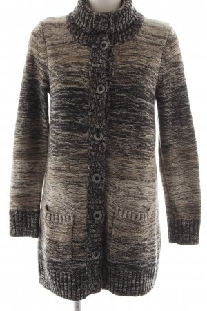 Cecil Knitted Coat brown color gradient casual look