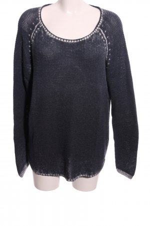 Cecil Knitted Sweater black casual look