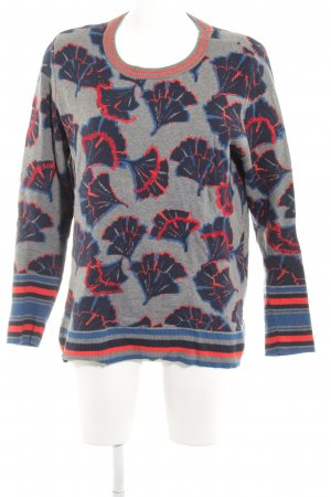 Cecil Strickpullover florales Muster Casual-Look