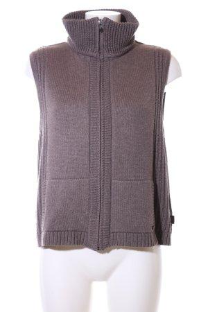Cecil Gilet tricoté violet style décontracté