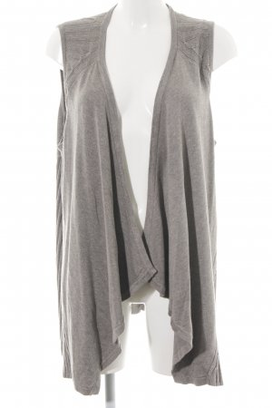 Cecil Gilet tricoté gris clair-argenté style décontracté