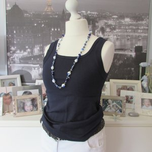 Cecil * %Summer SALE% Basic Tank Top + Kette BB * dunkelblau * L=40/42 NEU