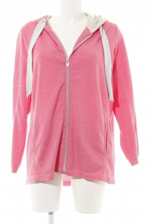 Cecil Sweat Jacket pink casual look
