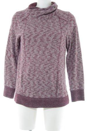 Cecil Sweatshirt lila Casual-Look