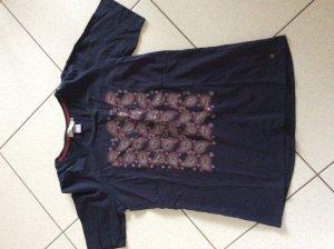 Cecil T-Shirt Gr. L mit Metallicprint