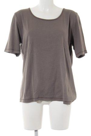 Cecil Camiseta gris estilo sencillo