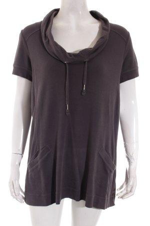 Cecil T-Shirt grau sportlicher Stil