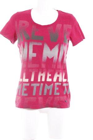 Cecil T-shirt caratteri stampati Logo applicato (in metallo)