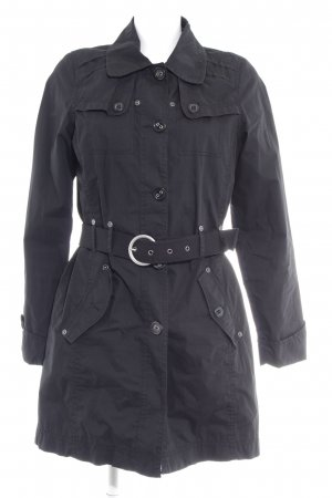 Cecil Trenchcoat schwarz Casual-Look