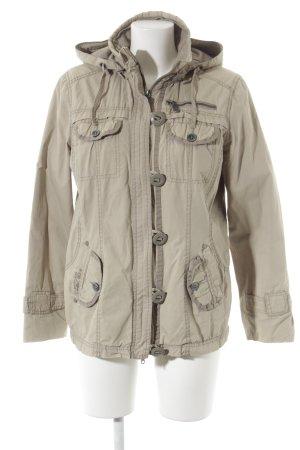 Cecil Between-Seasons Jacket oatmeal-light grey street-fashion look