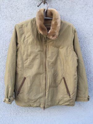 Cecil Winter Jacket oatmeal-gold-colored