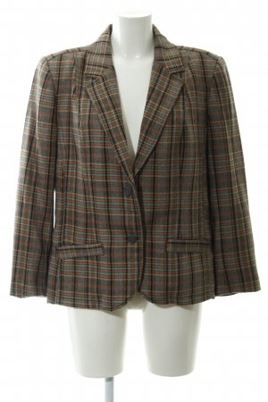 Cecil Woll-Blazer Karomuster Casual-Look