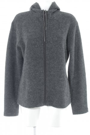 Cecil Giacca di lana antracite-nero puntinato stile casual